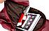 Рюкзак женский из кожзама Kaila Vanoton Черный Бордовый, фото 7