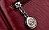 Рюкзак женский из кожзама Kaila Vanoton Черный Бордовый, фото 9