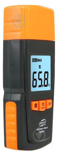 Влагомер для древесины и строительных материалов (28 пород, 4 типа) (0~41%) GM605 BENETECH
