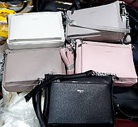 Женские стильные сумочки-клатчи на плечо ЛЕТО 2020 (5 цветов)19*25см