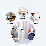 Увлажнитель воздуха ультразвуковой Adna Humidifier Q1 с LED подсветкой. Увлажнитель-ночник. Белый, фото 8