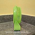 Настольный мини вентилятор XS-01 на аккумуляторе. Портативный мини вентилятор, фото 6
