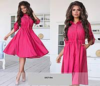 Платье-рубашка женское норма  1017 Окс Код: 3686715