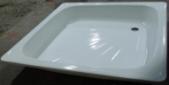 Акриловый квадратный душевой поддон VIVIA мелкий 15 см