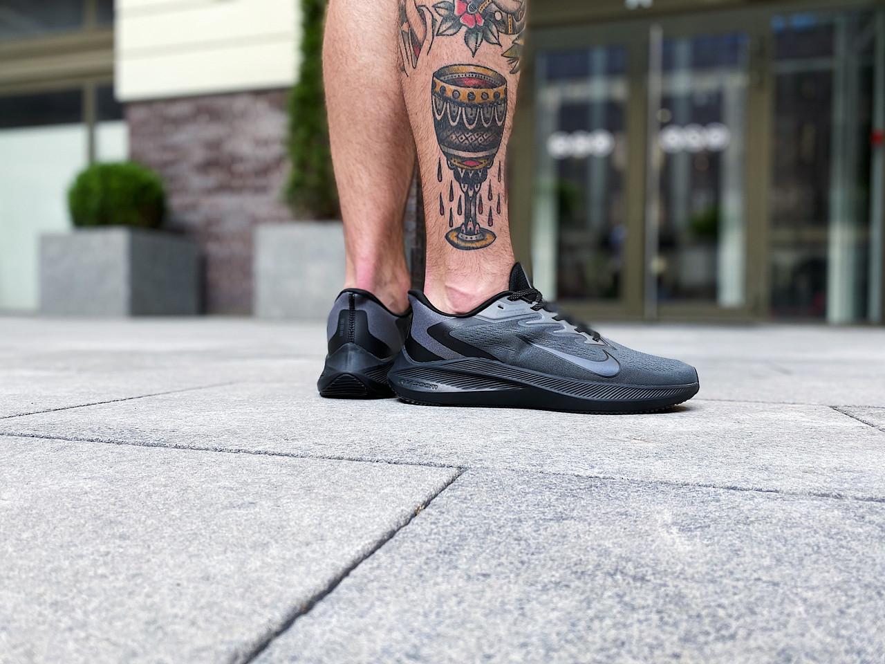 Кроссовки мужские Nike Zoom Winflo 7 / CJ0291-077 (Размеры:41,44)