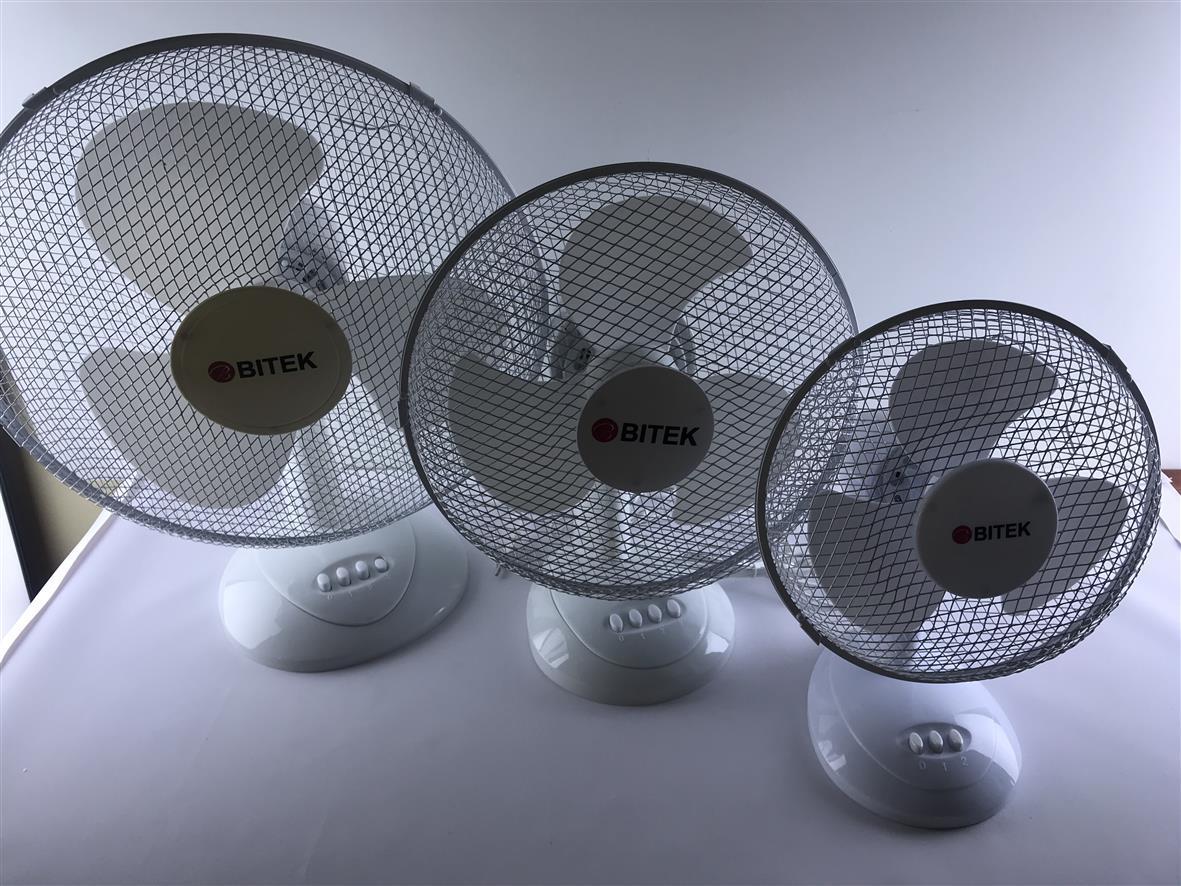 Функциональный настольный вентилятор Bitek BT-1610 (40См 40ВТ)