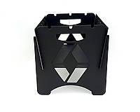 Мангал разборный Cutweld Carbrand Renault портативный (3мм товлщина, 5 шампуров, MCB-03)