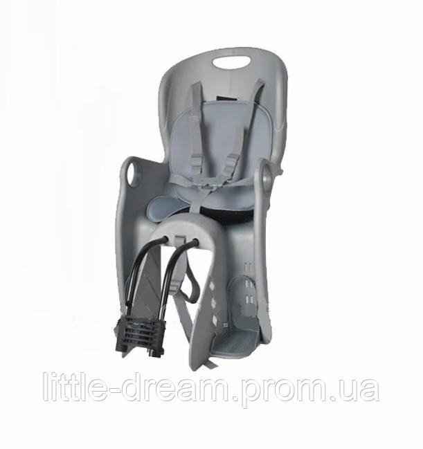 Детское велокресло TILLY Maxi T-831/1 Gray, до 22 кг