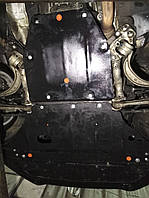 Защита двигателя Кольчуга Audi A4 B5 (V6) (1994-2001) V-1.8i; 1.9TDI, (двигатель, КПП, радиатор)
