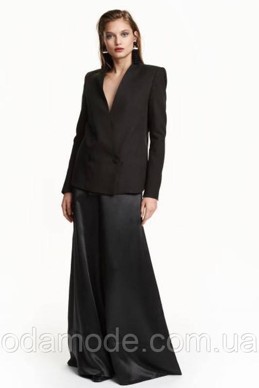 Пиджак женский чёрный h&m