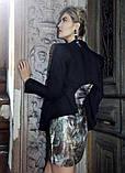 Піджак жіночий чорний h&m, фото 4
