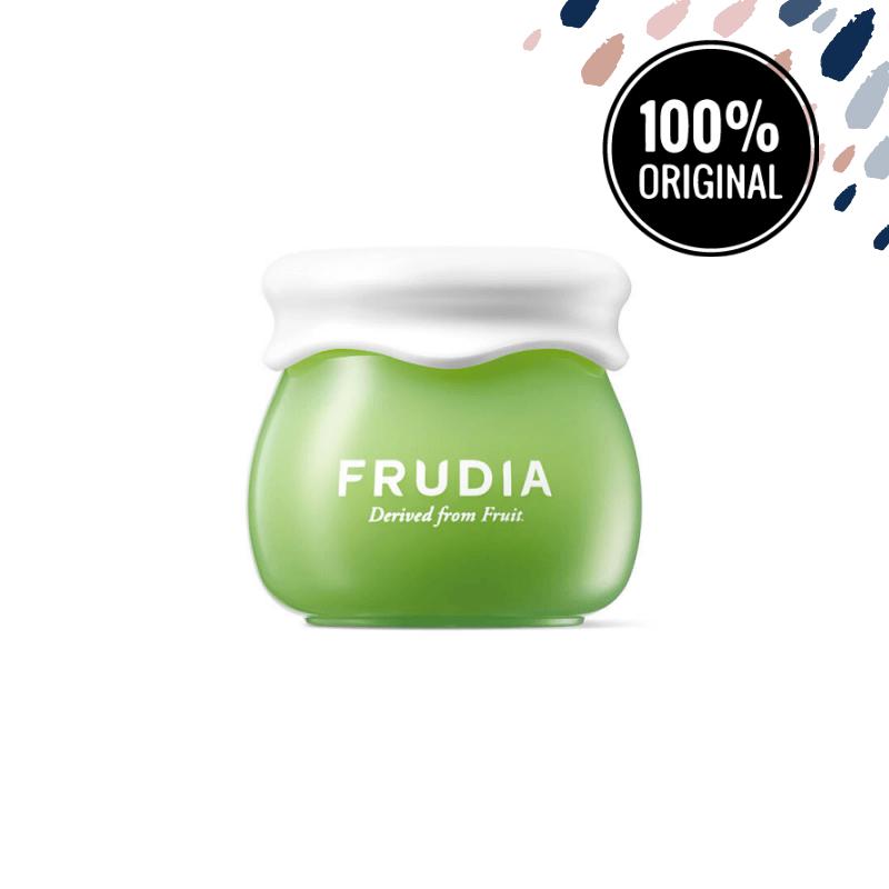 Звужує пори крем для обличчя з екстрактом винограду FRUDIA Green Grape Pore Control Cream, 10 мл