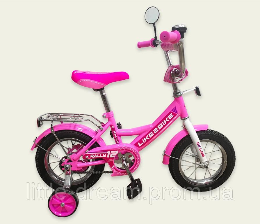 "Велосипед 2-х колёс 16"" 191616 Like2bike RALLY, розовый"