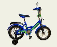 """Велосипед 2-х колёс 12"""" 191215 Like2bike RALLY, синий, без переднего тормоза"""