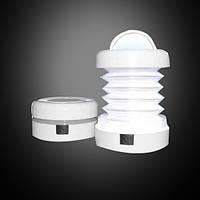 Переносной набор из 4 фонарей для походов и туризма Белые