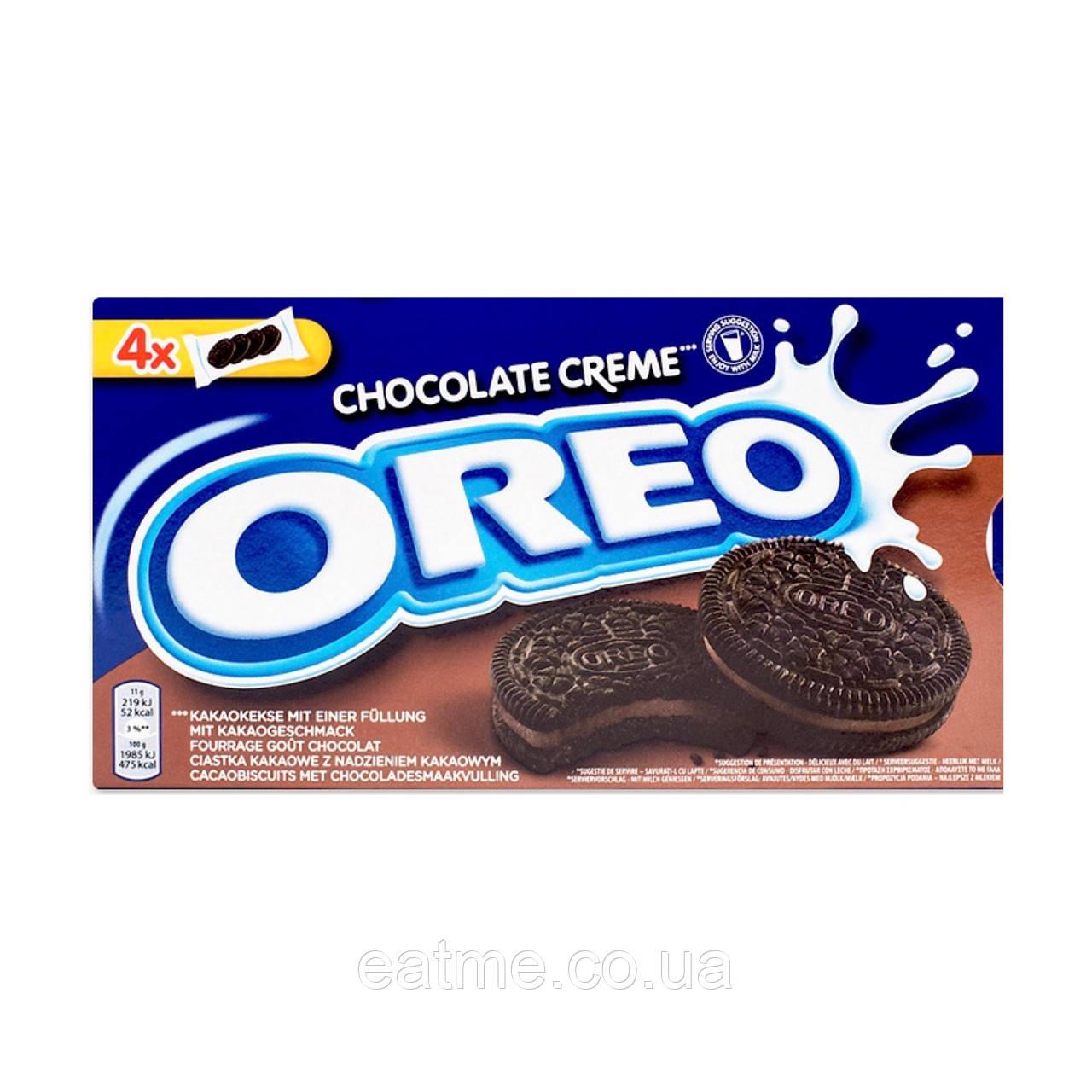 Oreo Chocolate creme Шоколадное печенье с шоколадным кремом