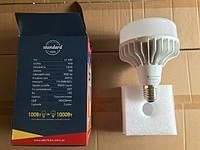 Лампа светодиодная промышленная LP-100F 100W E40 6500K алюмопластиковый корпус, Electrum