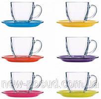 Сервиз чайный 12 предметов Luminarc Carine Rainbow N4217