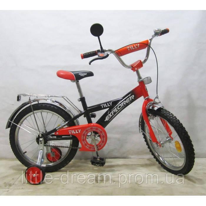 Велосипед Explorer 18'' T-21814 black + orange