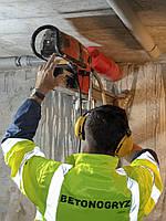 Сверление отверстий в бетоне и киприче для вентиляции