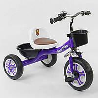 Трехколесный велосипед Best Trike LM-1355 Фиолетовый (колеса пена)