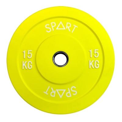 Бамперный диск Spart Bumper Plates Color 15 kg