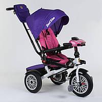 Велосипед 3-х колёсный Best Trike с поворотным сиденьем 9288 В - 7598, складной руль, русское озвучивание, надувные колеса, пульт включения света и