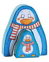 """Первая кооперативная настольная игра Haba """"Вперед, вперед крошка пингвин"""" (Германия) от 2х лет, фото 1"""