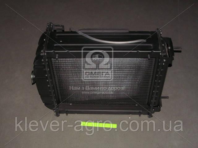 Радиатор водяного охлаждения ЮМЗ-6Л/6М (4-х рядный)(пр-во ДК)