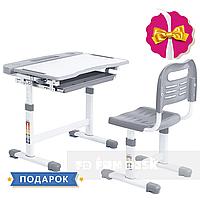 Парта и стул-трансформеры комплект Cubby  Vanda Grey