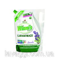 Гель для прання будь-яких типів волокон і делікатного одягу Winni's Lavatrice Lavanda 1000 ml