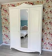 Шафа гардеробна Ельза для дитячої, підліткової кімнати з масиву дерева, фото 1