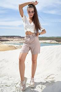 Женские летние коттоновые шорты