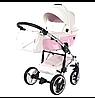 Детская универсальная коляска 2 в 1 Junama Candy 01, фото 3