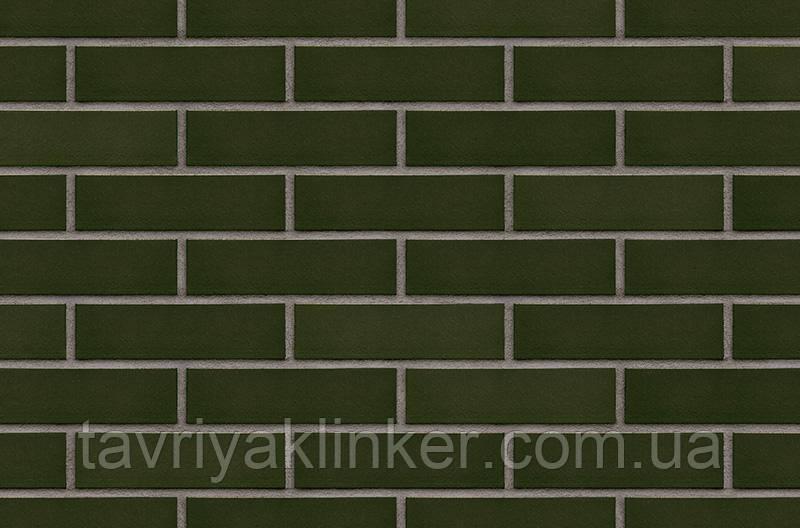 Плитка клинкерная облицовочная King Klinker (25) Зеленый холм 250х65х10