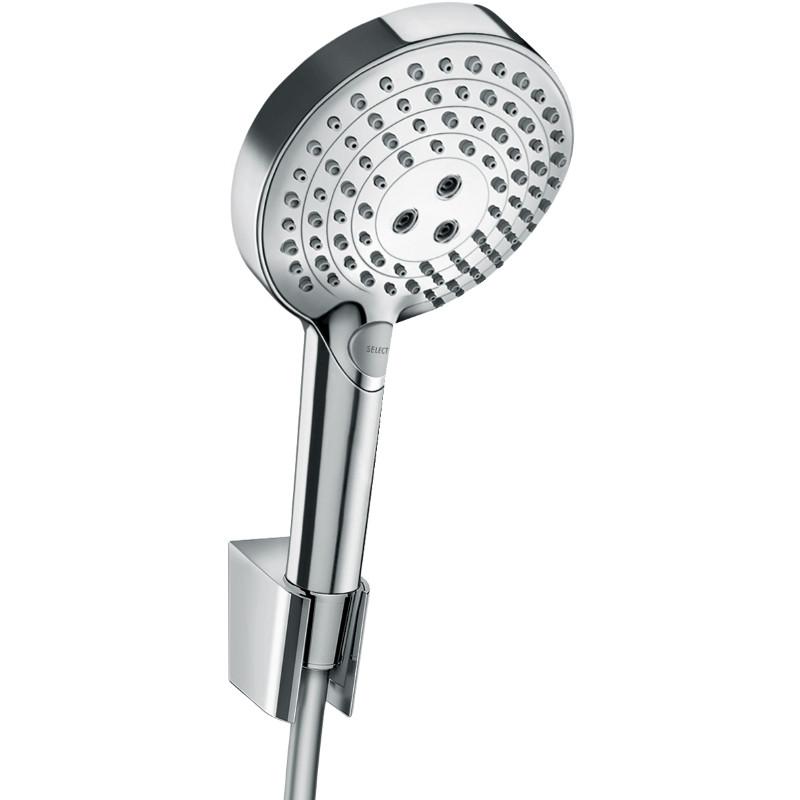 Hansgrohe Raindance Select S Душевой набор 120, 3jet, Powder Rain, хром