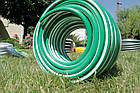 Шланг садовый Tecnotubi EcoTex для полива диаметр 3/4 дюйма, длина 15 м (ET 3/4 15), фото 4