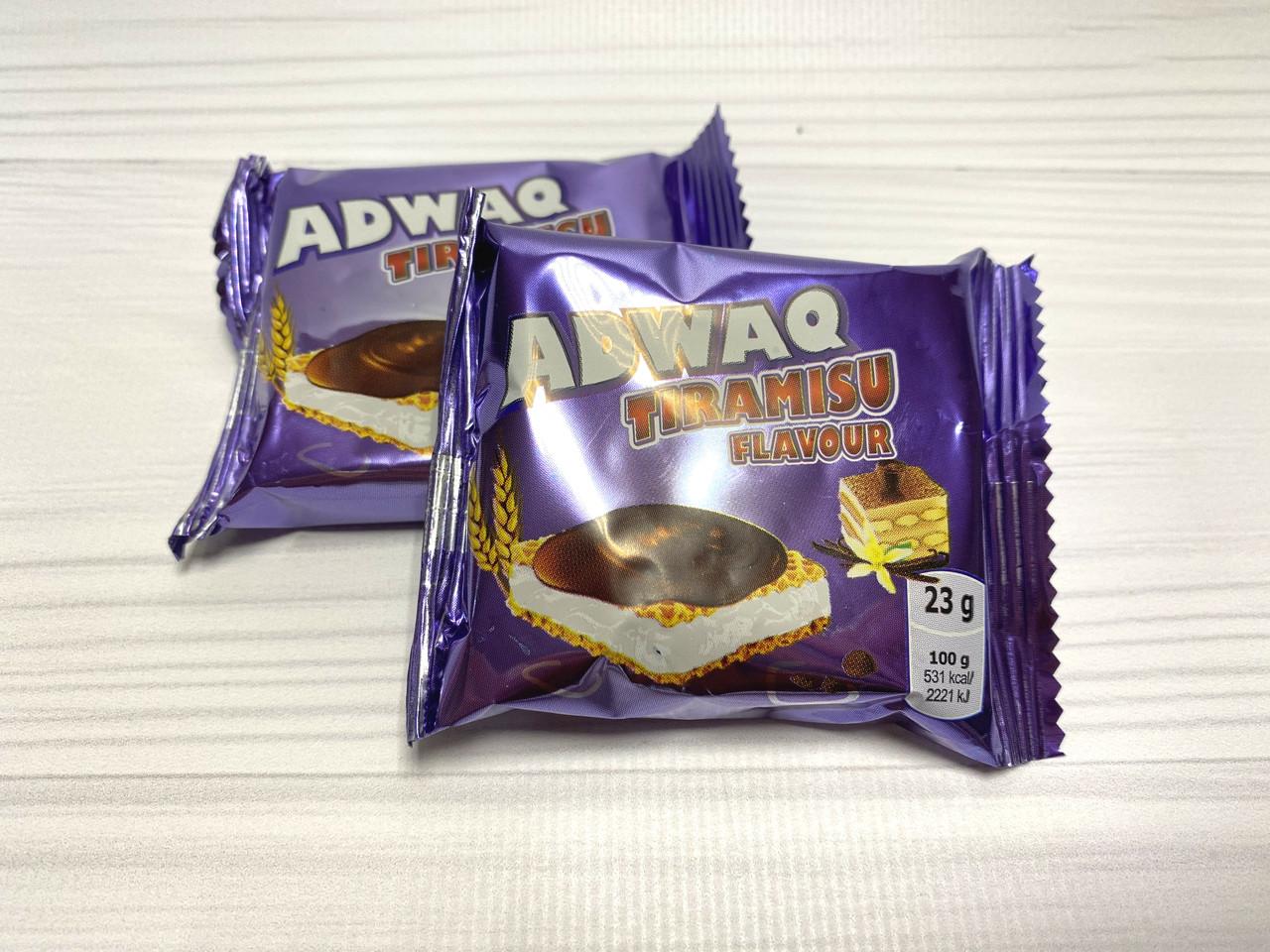 Конфеты Адвак со вкусом Тирамису 2,5кг.