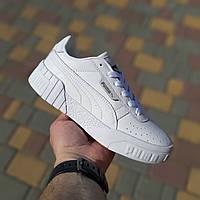 Женские кроссовки Puma Cali (белые) 20052