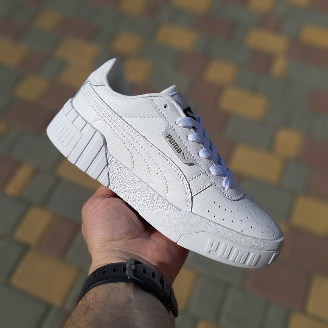 Жіночі кросівки Puma Cali (білі) 20052