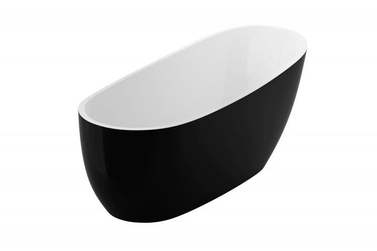 Ванна отдельностоящая 1750x740 Excellent Comfort+ черная (WAEX.COM17WB)