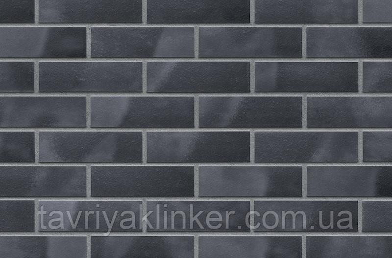 Плитка клинкерная облицовочная King Klinker (32) Черная жемчужина 240х71х10