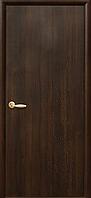 Двери межкомнатные Новый Стиль Колори Сакура Глухие 60 ПВХ Delux Каштан