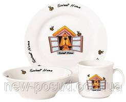 Набор детской посуды Limited Edition Sweet Home 3 предмета (D111030)