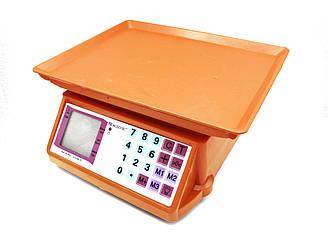Електронні ваги МІНІ, 50кг торгові ваги, 4017