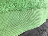 Пляжное махровое  полотенце 70 на 200 см Турция синее, фото 3