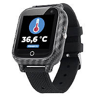 Детские смарт часы JETIX T-Watch с термометром, GPS трекером, телефоном, виброзвонком и датчиком падения