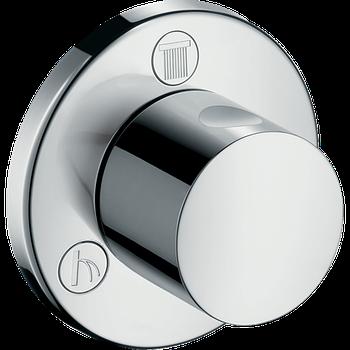 Запорный вентиль переключатель потоков HANSGROHE TRIO/QUATTRO S 15932000