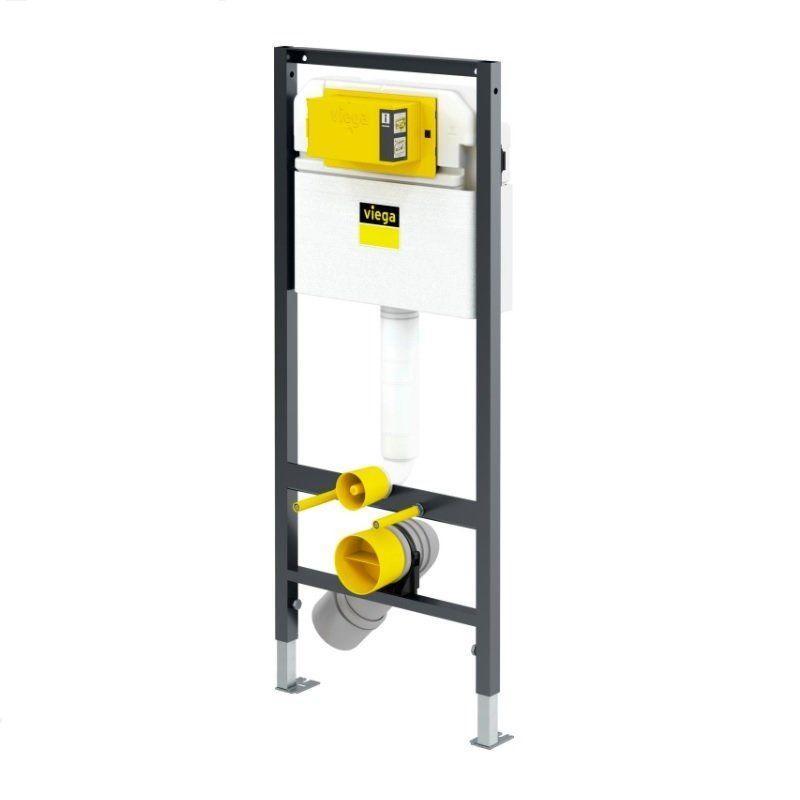 Комплект  инсталяции VIEGA для унитаза Prevista Dry 771973, крепежный набор 460440