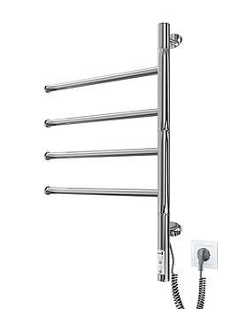 Марио Электрический полотенцесушитель Веер -I 600х445 TR таймер-регулятор